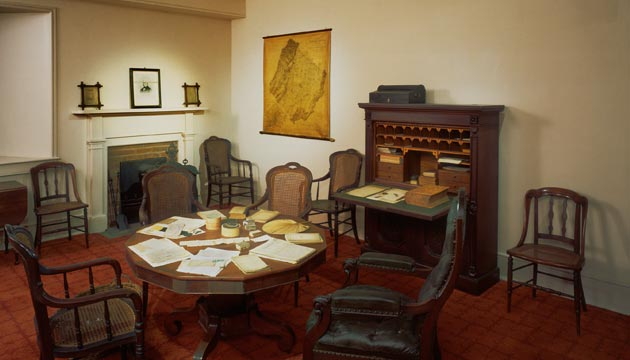General Lee's Office