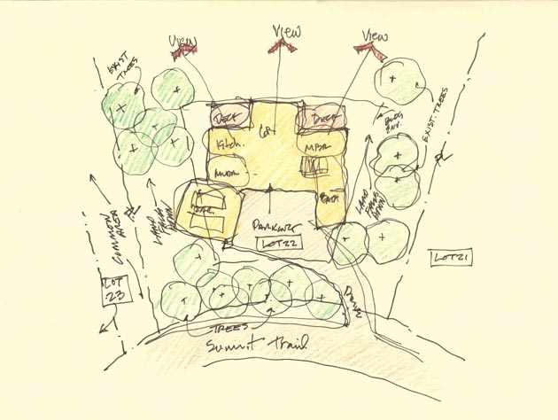 Images of a Master Plan sketch