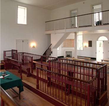 restored 1822 courtroom