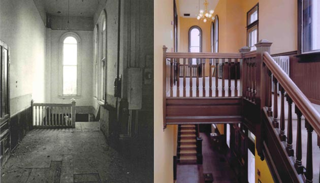 historic stairways before and after