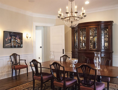 Stoneleigh Residence dining room